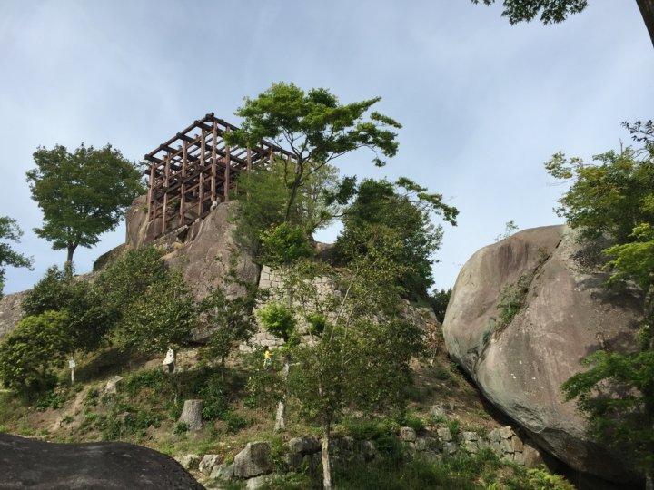 苗木城の御城印